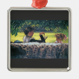 A story read by James Tissot Metal Ornament