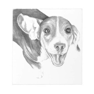 A Story To Tell, A Beagle Puppy Notepads