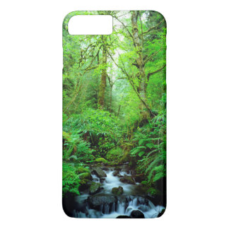 A stream in an old-growth forest iPhone 7 plus case