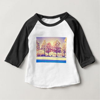 A stroll in the woods baby T-Shirt
