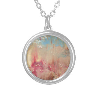 A Study in colour Silver Plated Necklace