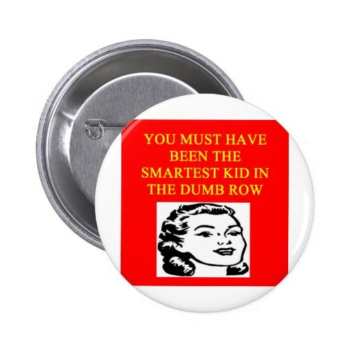 a stupid  insult pins