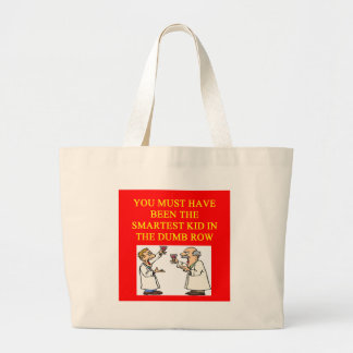 a stupid  insult large tote bag