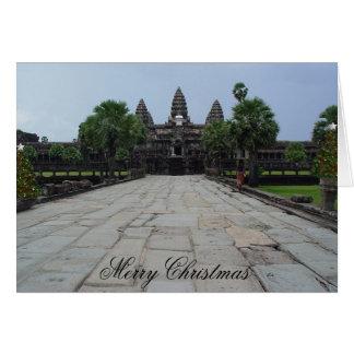 A Subtle Angkor Wat Christmas Card