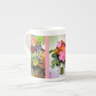 A Summer Wedding Bouquet Tea Cup