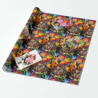 A Summer Wedding Bouquet Wrapping Paper