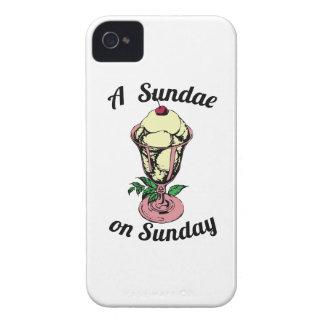 A Sundae on Sunday iPhone 4 Cover