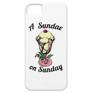 A Sundae on Sunday iPhone 5 Case
