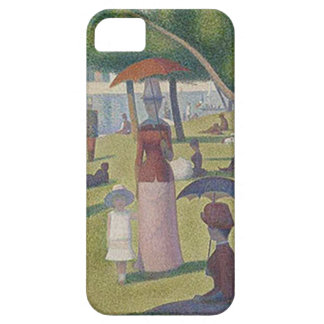 A Sunday Afternoon by Georges Seurat iPhone 5 Covers