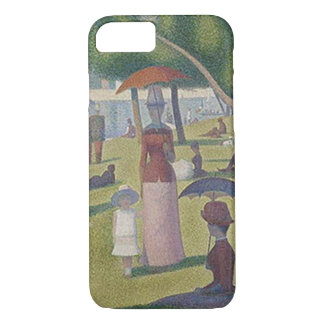 A Sunday Afternoon by Georges Seurat iPhone 7 Case