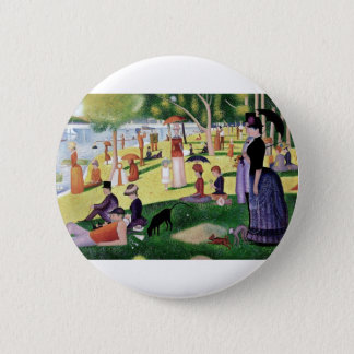 A Sunday Afternoon On The Island Of La Grande Jatt 2 Inch Round Button