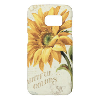 A Sunflower in Full Bloom Samsung Galaxy S7 Case