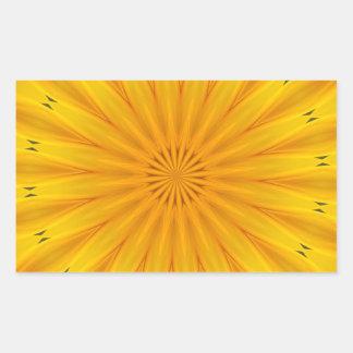 A Sunflower Kaleidoscope