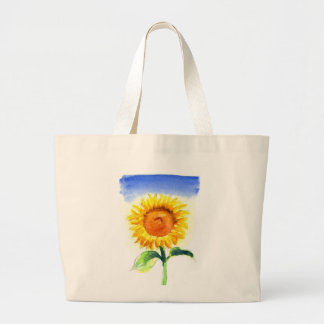 A Sunflower Large Tote Bag
