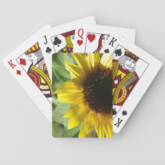 A Sunflower Playing Cards