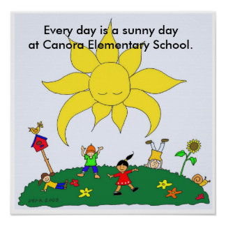 A Sunny Day Every Day Poster