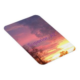 A Superior Sunset Magnet