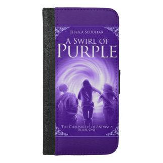 A Swirl of Purple iPhone 6s wallet case