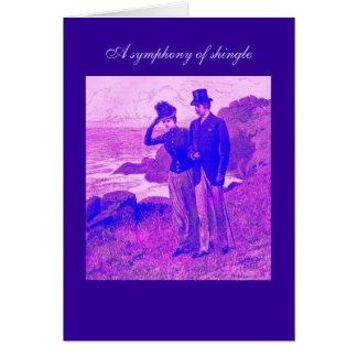 A Symphony of Shingle Poetry Card