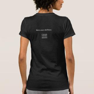 A t-shirt about the Du Bois Library falcons