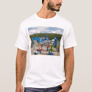 A t-shirt for fans of the King Harry Ferry