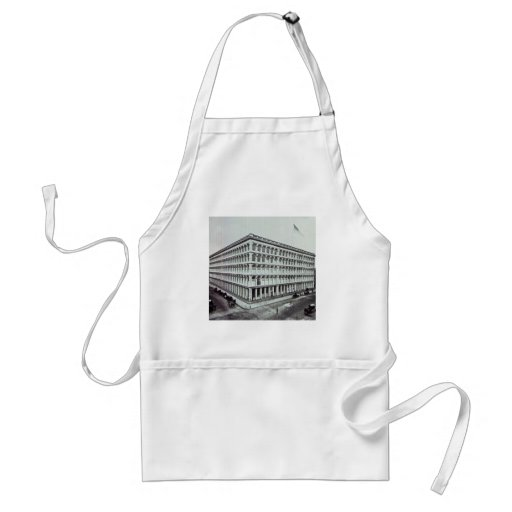 A.T. Stewart's Department Store NYC Vintage Apron