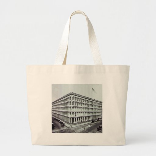A.T. Stewart's Department Store NYC Vintage Tote Bag