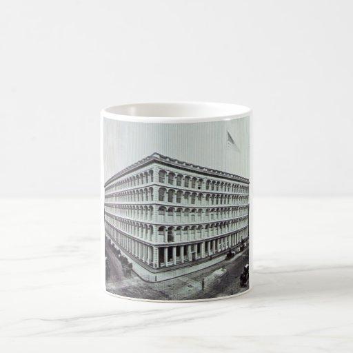 A.T. Stewart's Department Store NYC Vintage Coffee Mug