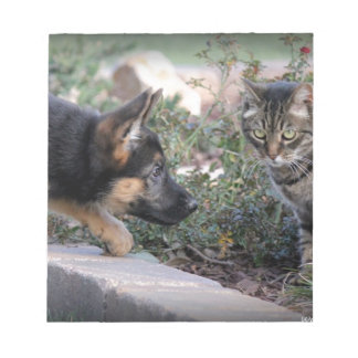 A Tail of Two Kittys Notepad