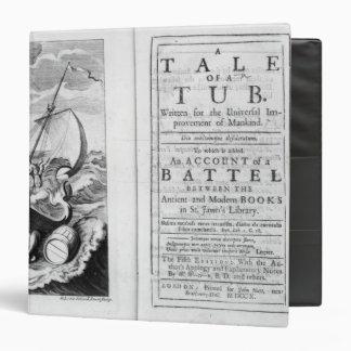 'A Tale of a Tub' Vinyl Binder
