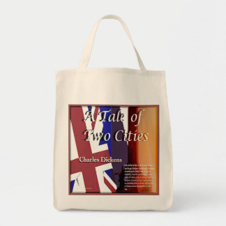 A Tale of Two Cities text Tote Bag