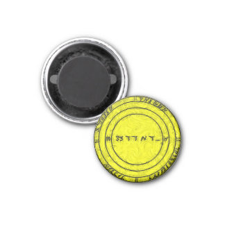 A Talisman to ensure all prosperity 1 Inch Round Magnet