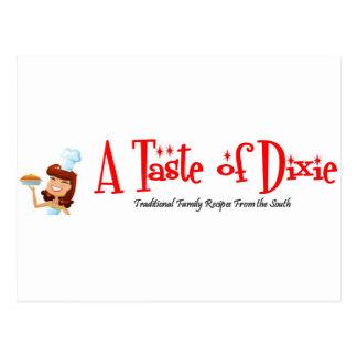 A Taste of Dixie Postcard