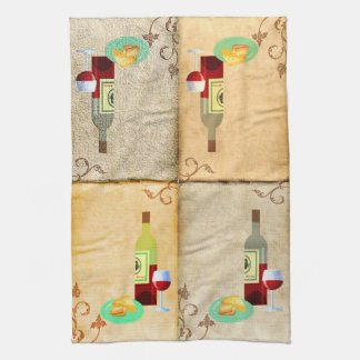 A Taste of the Grape Kitchen Towel