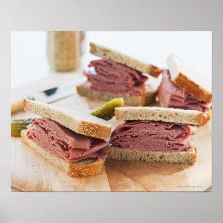 A tasty sandwich poster