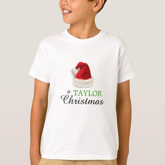 A TAYLOR Christmas T-Shirt