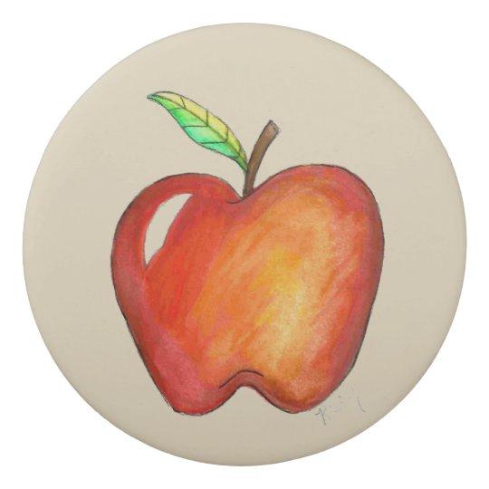 A+ Teacher Red Apple Back to School Education Gift Eraser