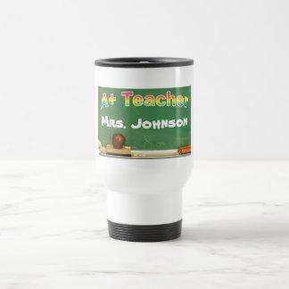 A+ Teacher Travel Mug