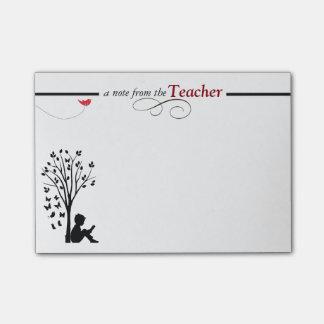 A Teacher's Sticky Notes