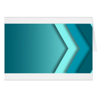 A  teal background greeting card