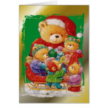 A Teddy Bear Christmas Card