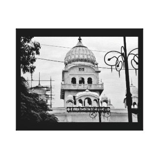 A Temple in India Canvas Print