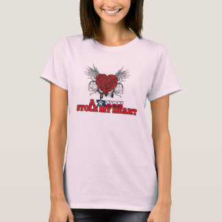 A Texan Stole my Heart T-Shirt