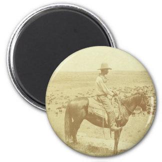 A Texas cowboy Magnet