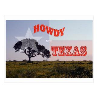 A Texas Howdy! Postcard