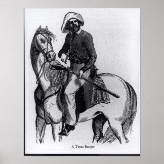 A Texas Ranger Poster