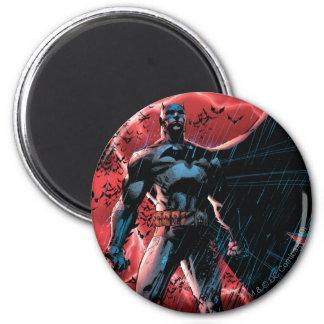 A Thousand Bats 2 Inch Round Magnet