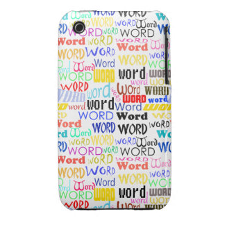 A Thousand Words - 1000 Words Background iPhone 3 Case-Mate Cases