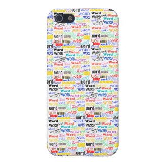 A Thousand Words - 1000 Words Background iPhone 5/5S Covers