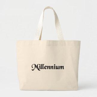 A thousand year period canvas bag